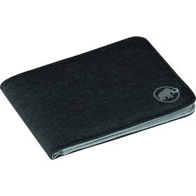Mammut Flap Wallet Mélange - Porte-monnaie - noir